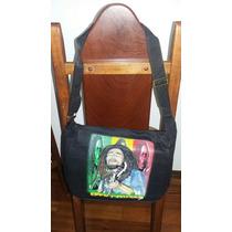Bolsa De Lado Estampa Bob Marley Diferente