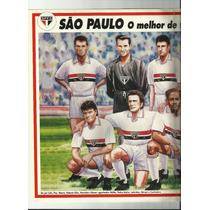 Poster São Paulo O Melhor De Todos Os Tempos 1994 Placar