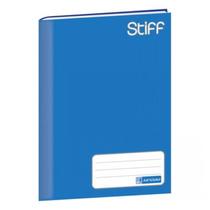 Caderno Brochura Capa Dura 96 Folhas Stiff Jandaia - Azul