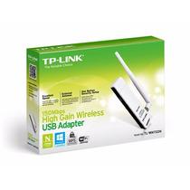 Adaptador Wifi Wireless Usb Tp-link Tl-wn722n 150mbps