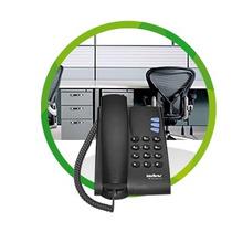 Telefone Ip/voip Intelbras Tip 100
