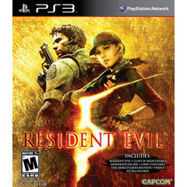 Resident Evil 5 Gold Edition Ps Move Ps3 Americano Original