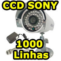 Camera Hd Ccd Sony Sharp 1000 Linhas Bilvot 220v 110v Ntsc