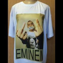 Camiseta Camisa Tupac Notorious Big Drake Racionais Eminem