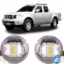 2 Faróis De Milha Led Nissan Frontier 2009/2010/2011/2012