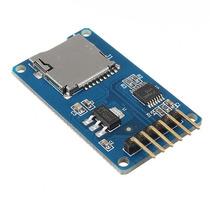 10pcs Escudo De Memória Micro Sd Tf Módulo Spi Micro Sd Ada