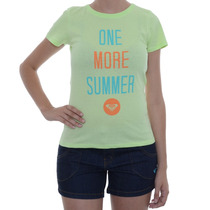 Blusa Feminina Roxy One More Summer