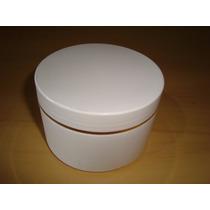 Potes Plásticos Vazios Para Cremes - 250g Fio De Ouro