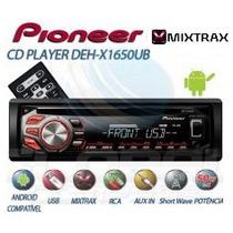 Toca Cd Player Mp3 Pioneer Usb Auxiliar + Frete Gratis