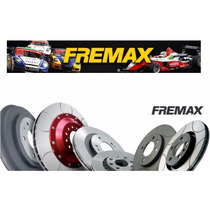 Par Disco De Freio Diant Ford Ecosport Fiesta Fremax Bd5344
