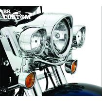 Acabamento Farol De Milha Original Harley-davidson 69732-05