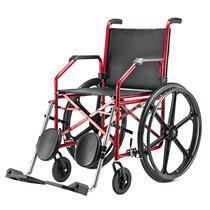 Cadeira De Rodas Dobrável - Modelo 1012 - Pneu Inflavel
