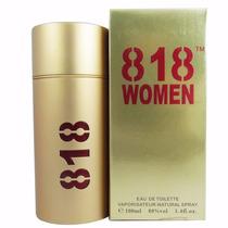 818 Women - Gold - 100ml - 212 Ch Vip