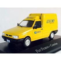 Miniatura De Fiat Fiorino Correios 1:43 Ixo