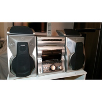 Mini System Sony Mhc Grx8 (muito Conservado) 260rms