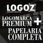 Logotipo Premium + Manual De Marca + Papelaria Completa