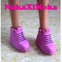 Sapato Para Boneca Susi Antiga * Sapatinho Tênis Rosa