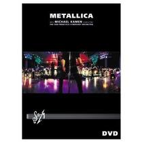 Dvd Metallica -s&m-michael Kamen San Francisco Symphony 2dvd