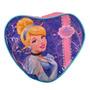 Bolsa Infantil Disney Modelo Cinde Coração, Mochila Infantil