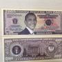 L-721 - Cédula De U$ Dólares Barack Obama Usa Fantasia  2009