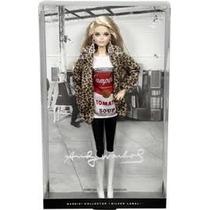 Boneca Barbie Colecionável - Andy Warhol - Campbells Tomato