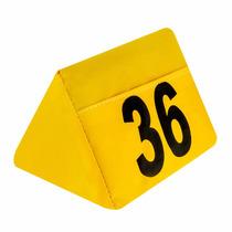 Numerador De Prisma Para Estacionamento - Triângulo 1 A 10