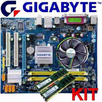 Kit Intel Lga 775 + Proc. Dual Core + Cooler + 2gb Ddr2