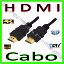 Cabo Hdmi Full Hd Para Tv, Ps3, Ps4, Xbox, Conversor Digital