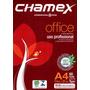 Papel Sulfite 500 Folhas Brancas A4 Marca Chamex Office