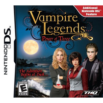 Jogo Nintendo Ds Vampire Legends Power Of Three Original