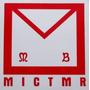 Adesivo Avental Mm Comab Maçonaria T3sm