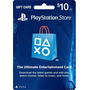 Cartão Psn Usa $10 Dolares Playstation Network Card Ps3 Ps4