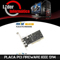 Placa Pci Fireware Ieee 1394 3+1p.