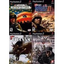 Conflict Vietnam Playstation 2 (kit 4 Jogos Ps2 Guerra