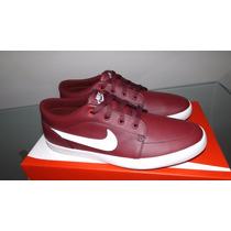 Tenis Nike Futslide Slip Couro Original