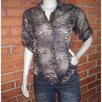 Camisa Feminina Transparente Tamanho M