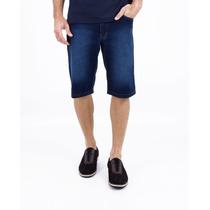 Bermuda Jeans Masculina Lycra Tamanho Grande Pronta Entrega