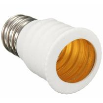 Kit-soquete Adaptador Para Lâmpada, De: E12 Para: E14
