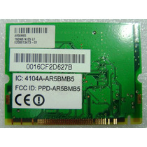 Atheros Ar5bmb5 Mini Pci Wlan Wifi Wireless Card 802.11 B/g