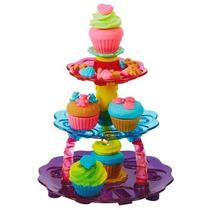 Conjunto Massinhas Play Doh Torre De Cupcake+brinde - Hasbro
