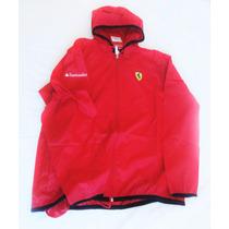 Jaqueta Ferrari Santander Vermelha Tamanho G - Impermeável