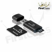 Pen Drive 64gb 3x1 Cartao De Memoria Leitor De Cartão Mc115