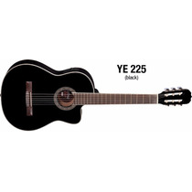 Violão Hofma Ye225 Clássico Nylon Elétrico C/ Afinador