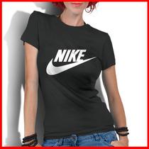 Camiseta Personalizada Feminina Nike