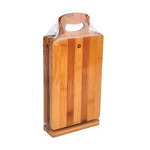 Conjunto De Tábuas Em Bambu 7 Peças - Batiki