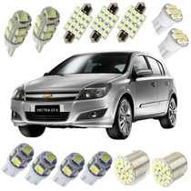 Kit Lâmpadas Led Chevrolet Vectra Gt Placa Teto Ré