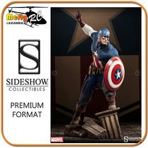 Captain America Premium Format Sideshow Capitão America