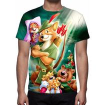 Camisa, Camiseta Disney Robin Hood - Estampa Total