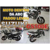 Suzuki Gs 500 - E Ano 2009 Com Apenas 54.433 Km Rodados