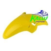 Paralama Dianteiro Amarelo Cbx250 Twister 2008 Honda Kallu
